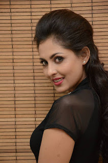 Madhu Shalini Latest Pictures in Black Short Dress at tur Talkies Audio Launch ~ Celebs Next