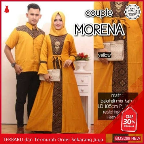 GMS269 TFPRF269G49 Gamis Batik Morena Couple Dress Dropship SK1964924489