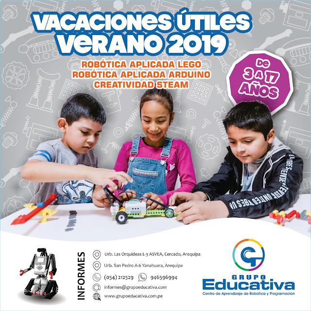 VACACIONES ÚTILES VERANO 2019