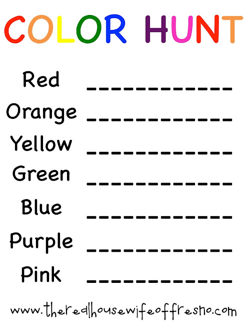 Fun & Easy Color Activities for Kids with Free Printables