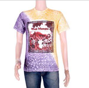 Contoh Kaos Batik Modern