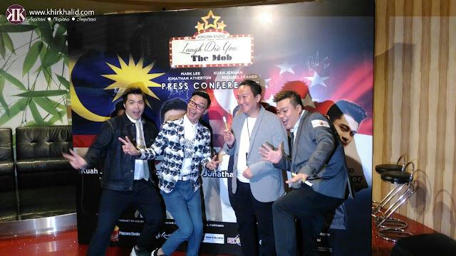 Laugh Die You, Kuah Jenhan, Mark Lee, Jonathan Atherton, Resorts World Genting,