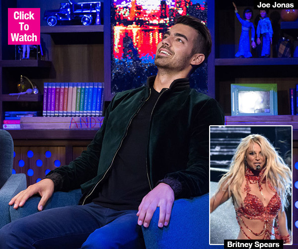 Joe Jonas Reveals The Shocking Rule Britney Spears Has For Opening Acts On Tour — Watch