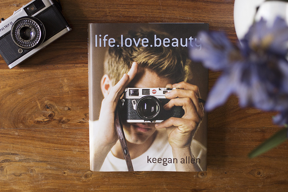 life.love.beauty by Keegan Allen book review