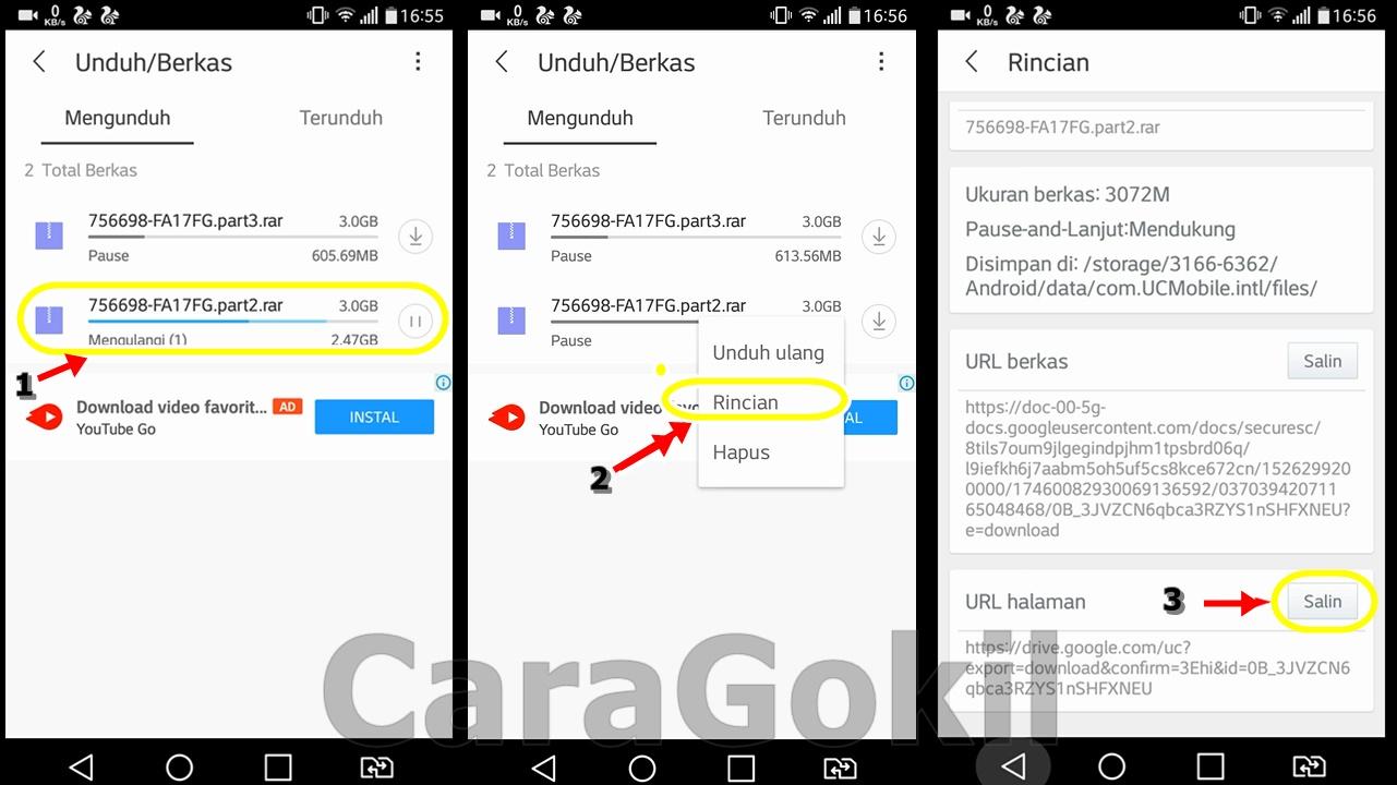 Cara Melanjutkan Download Yang Tidak Bisa Resume Di Uc