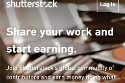 Cara Daftar Menjadi Kontributor Shutterstock Menggunakan Android.