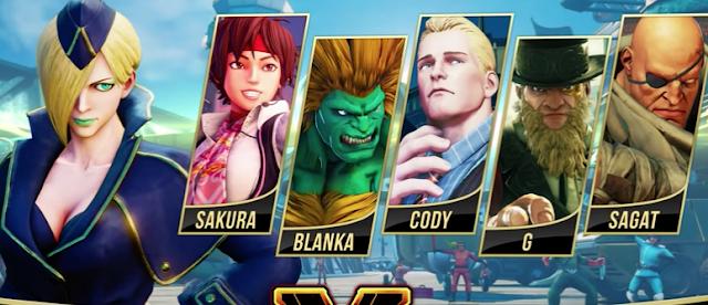 Falke será el tercer personaje de la temporada de Street Fighter V: Arcade Edition