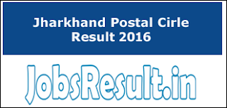 Jharkhand Postal Cirle Result 2016