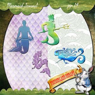 Quick Mermaid Journal freebie