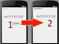 Cara membuat tombol pindah activity menggunakan onClick di Android Studio