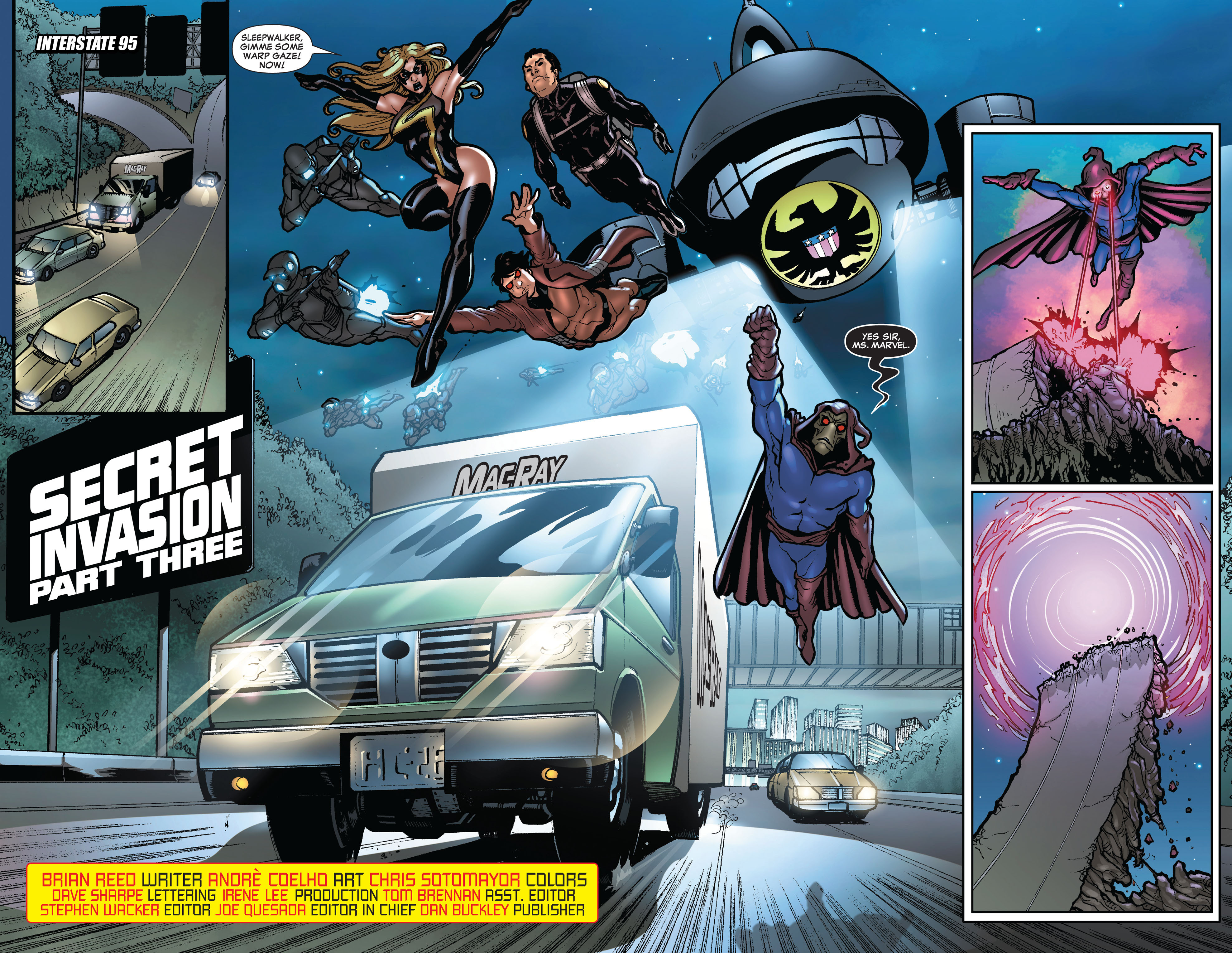 Read online Secret Invasion: The Infiltration comic -  Issue #10 - 7