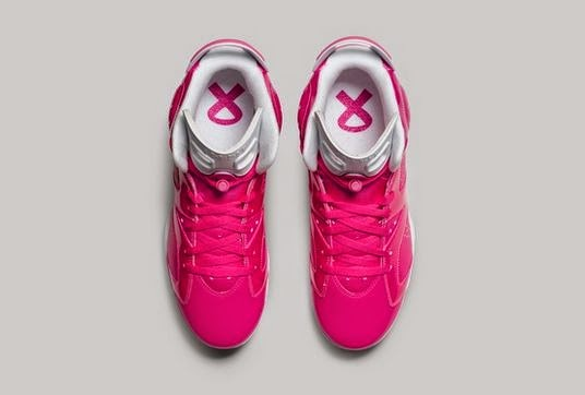 wholesale dealer b2b16 2cd7f Here is a look at the Air Jordan 6 THINK PINK Cleat players will be wearing  for this month, if your look for a pair of Jordan Cleats you can find some  HERE.