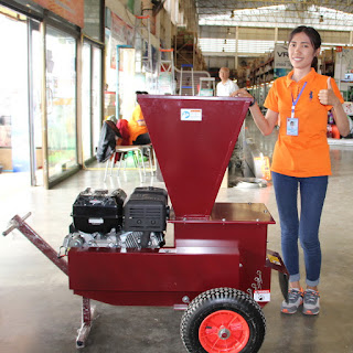 Thailand Home Builder Merchant Delivery Garden Chipper Mulcher