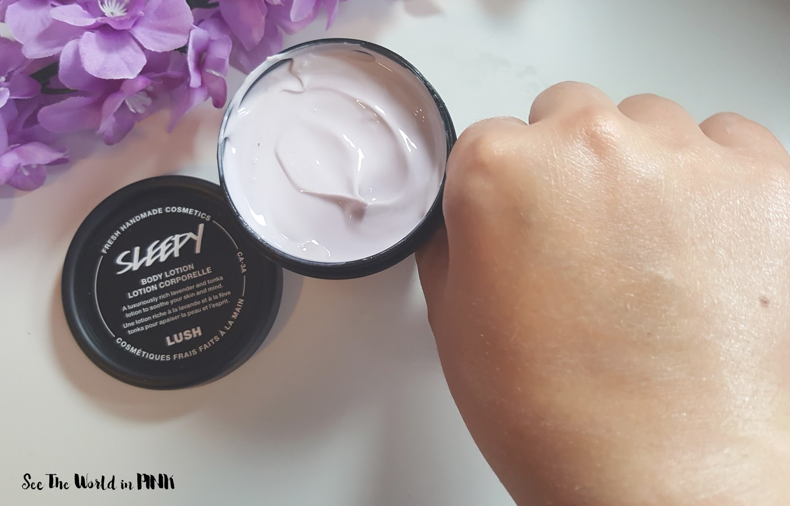 Skincare Sunday - New Lush Sleepy Hand and Body Lotion