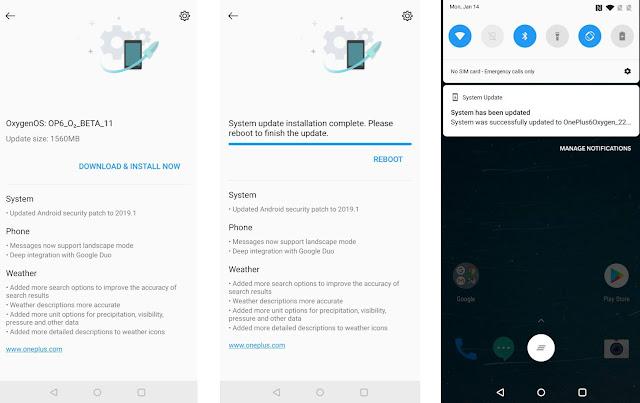 Cara Update Software di Telepon OnePlus Anda 3