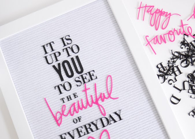 new Heidi Swapp Letterboard reveal by Jamie Pate  |  @jamiepate for @heidiswapp