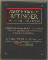 informasi bilderberg: plakat jozef retinger