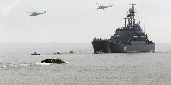 Ξεκινάει αύριο η μεγάλη ρωσική στρατιωτική άσκηση στη Μεσόγειο