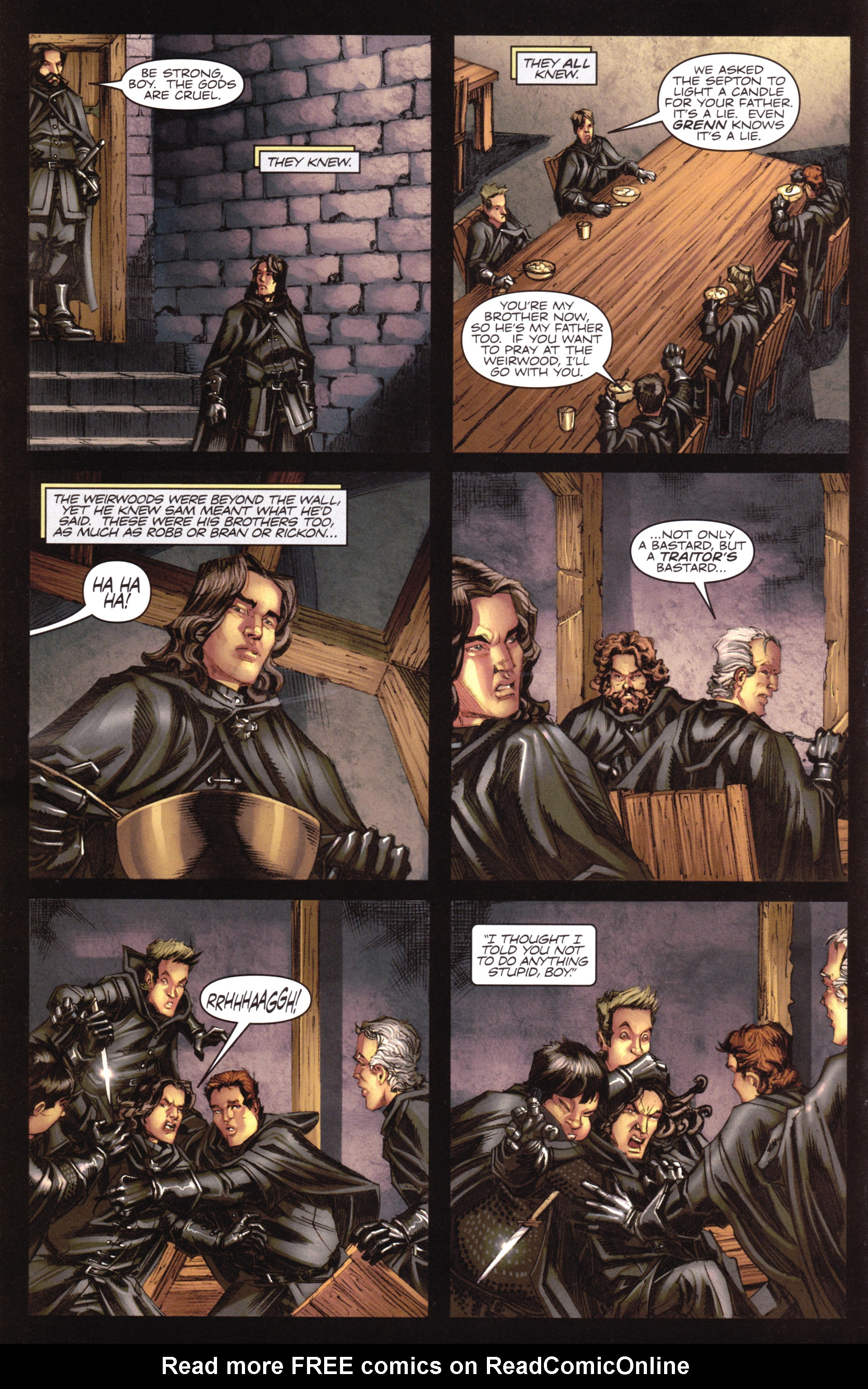 Read online A Game Of Thrones comic -  Issue #17 - 10