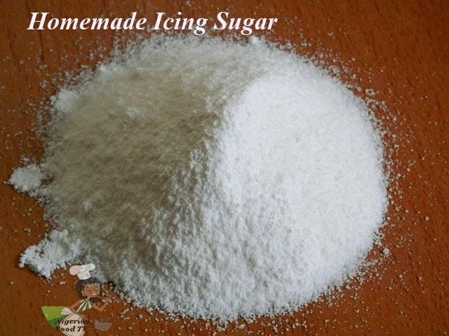 How to Make Icing Sugar( Homemade Icing Sugar)