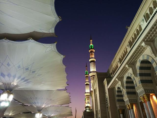 Pengalaman solat di masjid Nabawi