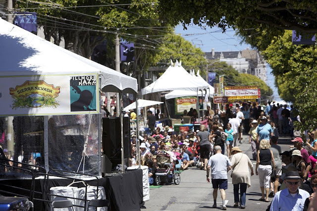 Região de Filmore Street em San Francisco