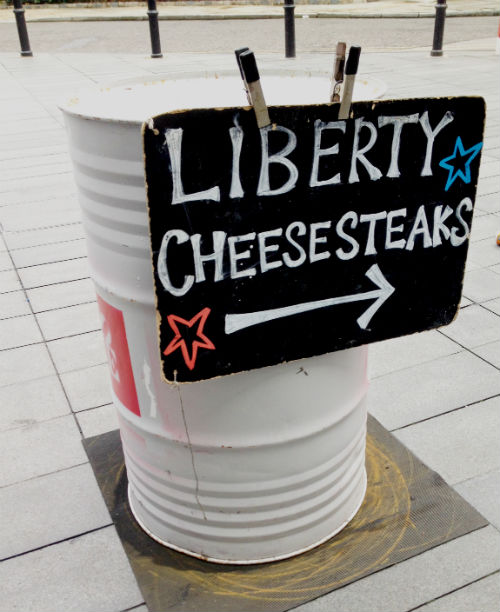 American Food at Liberty Cheesesteak Company
