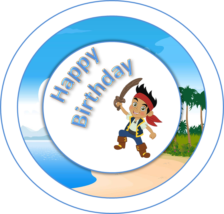 Jake Birthday Free Printable Mini Kit.