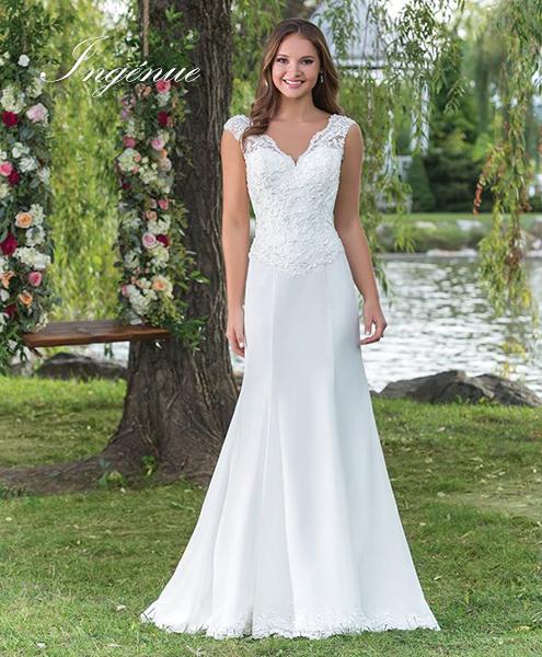 Vestidos de boda sencillos y elegantes