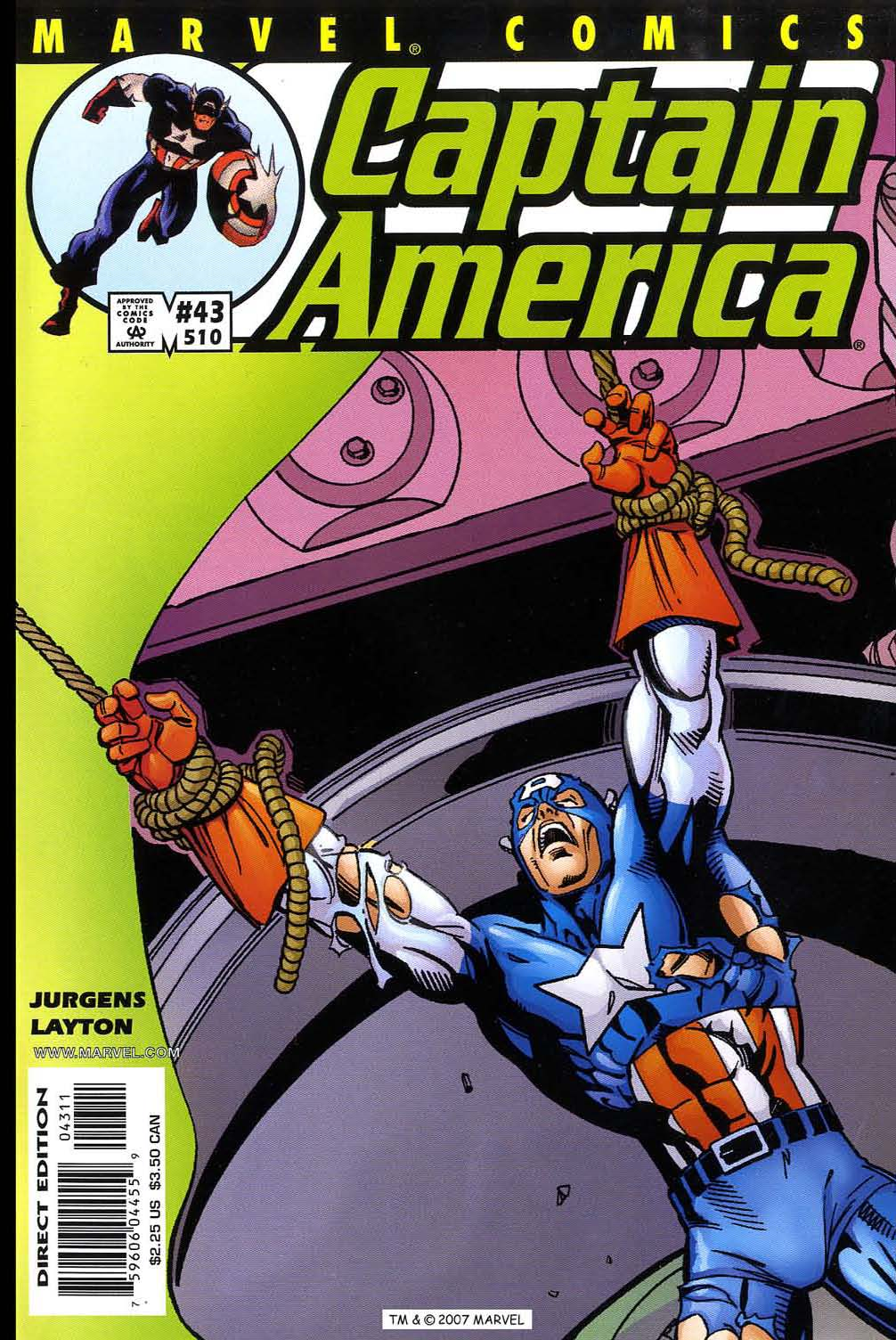 Captain America (1998) 43 Page 1