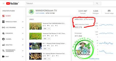 Tayangan dan Jam Tonton 28 Hari - MANGYONOcom TV
