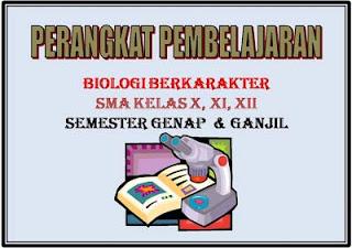 Perangkat Pembelajaran Biologi Sma Berkarakter Media Edukasi