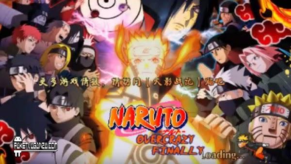 Naruto Senki OverCrazy Mod Apk Full Character & Unlimited Money