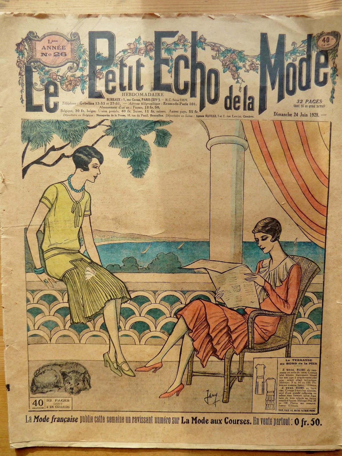 Found Sewn Le Petit Echo De La Mode