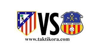 مشاهدة مباراة اتليتكو مدريد وسانت اندرا بث مباشر