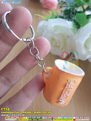 Gantungan Kunci Miniatur Cangkir Nescafe