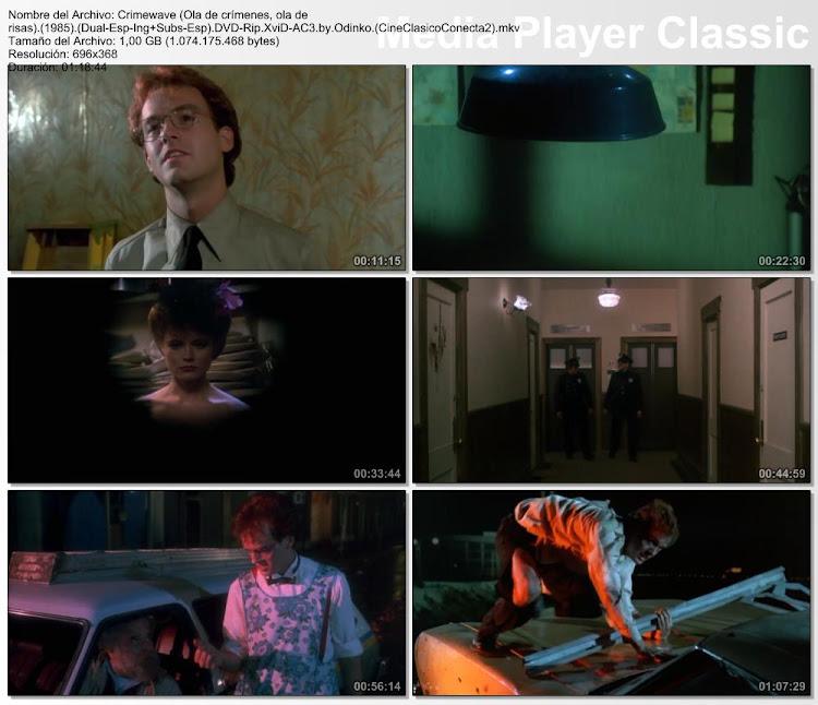 Imagenes, capturas: Crimewave (Ola de crímenes, ola de risas) ( 1985 )
