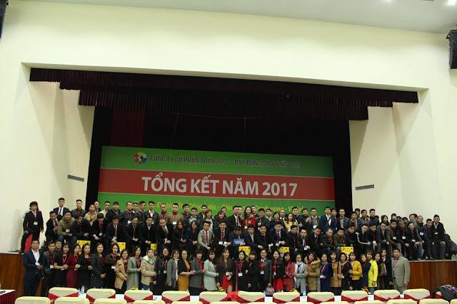 Tổng kết năm 2017 - Công ty Bất động sản Tuấn 123