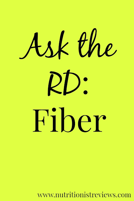 Fiber- why you need it, how much to have per day and which foods are high in fiber. Learn the answers from a registered dietitian! www.nutritionistreviews.com