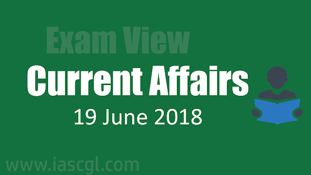 Current Affair 19 June 2018