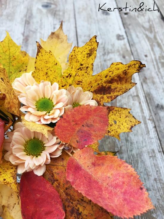 Blumen Herbst Blätter