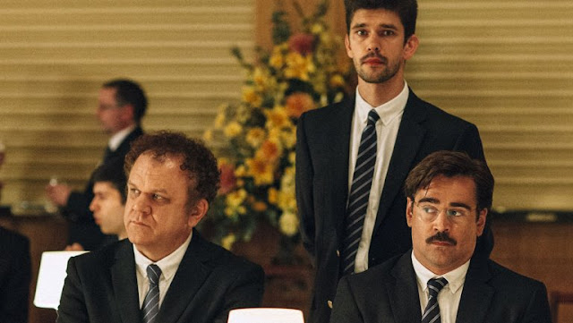 John C. Reilly and Ben Whishaw join Farrell as guests in search of companionship