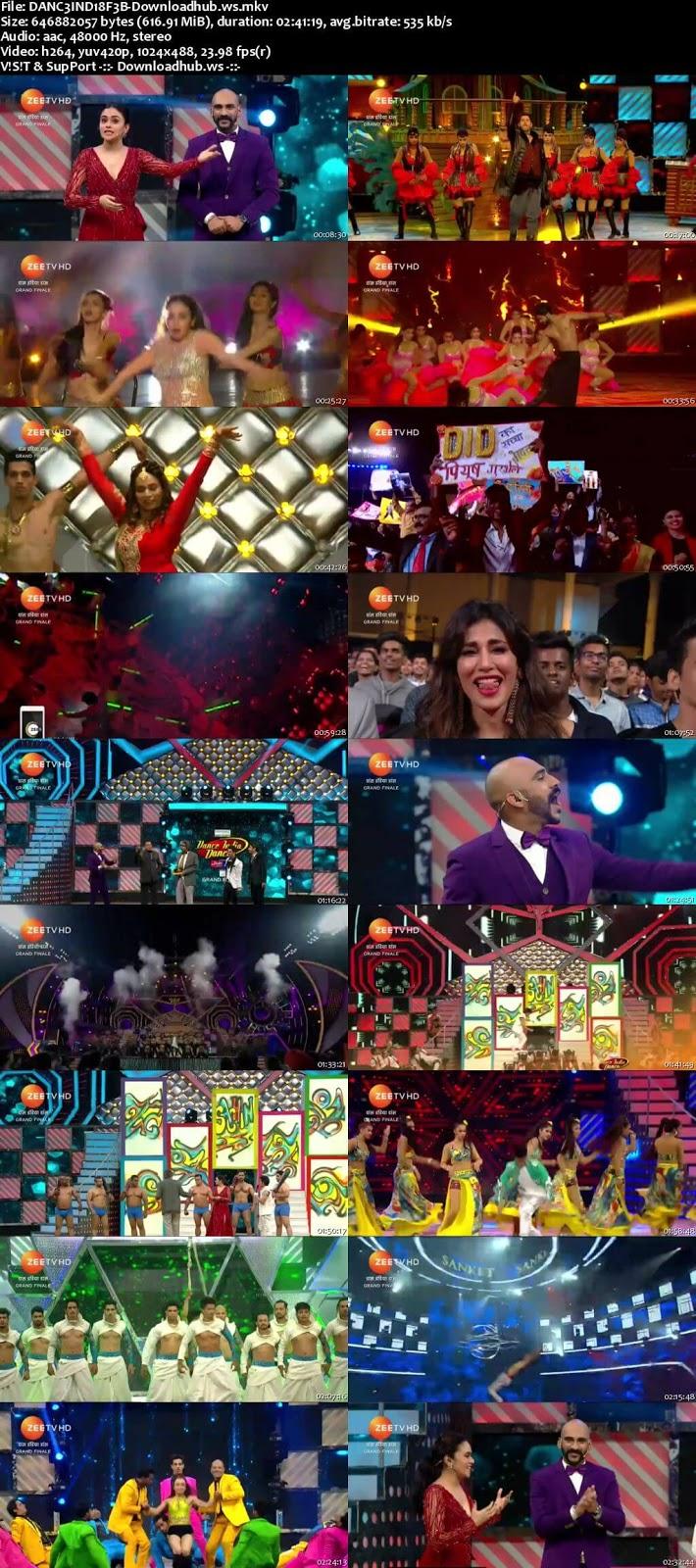 Dance India Dance 6 18 February 2018 Finale Episode HDTV 480p