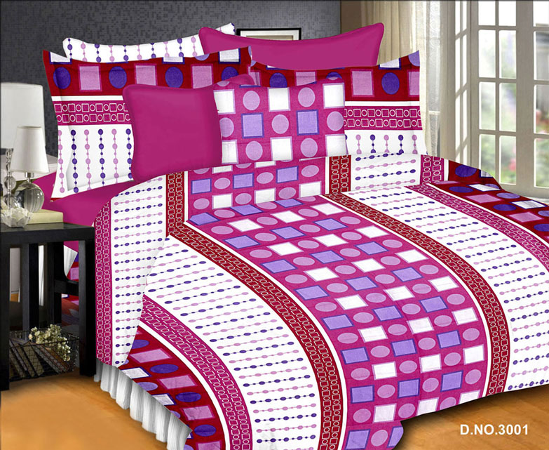 Platinum 3 – Cotton Latest Collection Double Bed Sheet