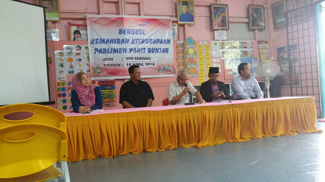 Bengkel Keibubapaan DUN Kuala Kurau Dan DUN Titi Serong Terlaksana  Mengikut Takwim