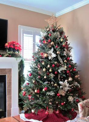 Contoh Dekorasi Pohon Natal Terbaru