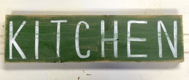 Perfectly Imperfect Reclaimed Wood Signs