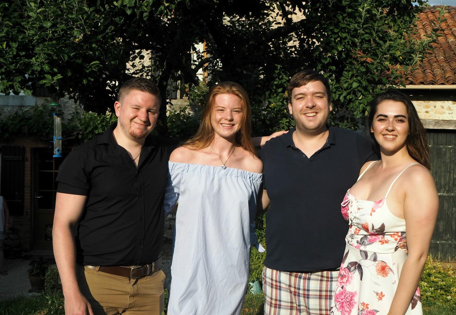 Sean, Sarah, Sam and Natalie