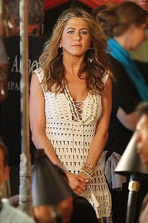 Crocheted Dress Jennifer Aniston In Quot Just Go With It