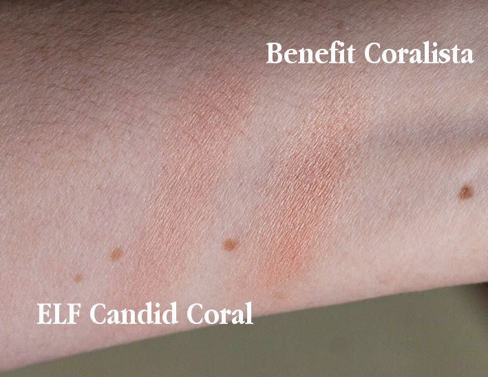 ELF Candid Coral blush review